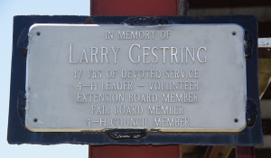 Show Arena Addition - Larry Gestriing